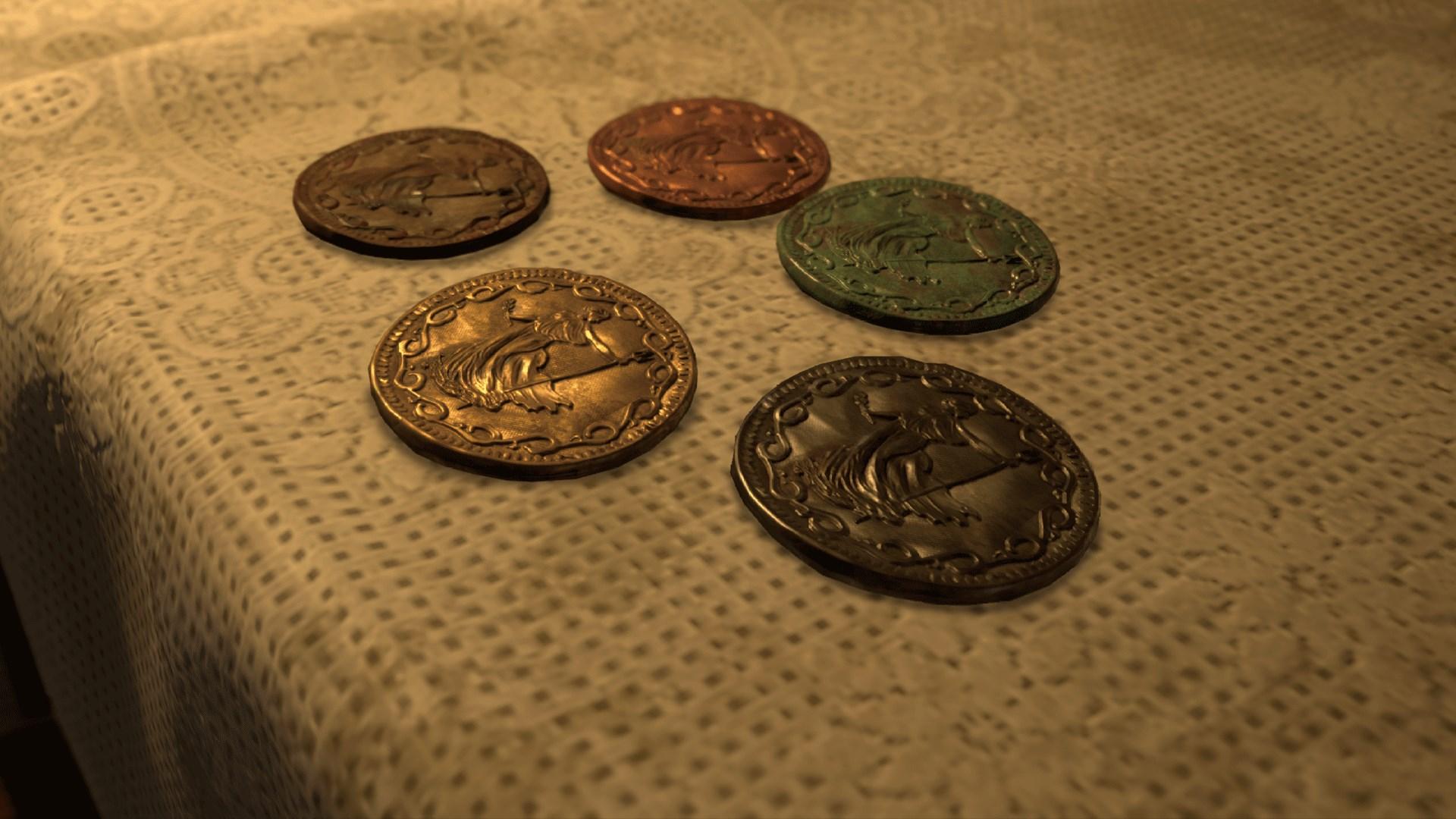 Пять монет защиты и режим «Безумие»