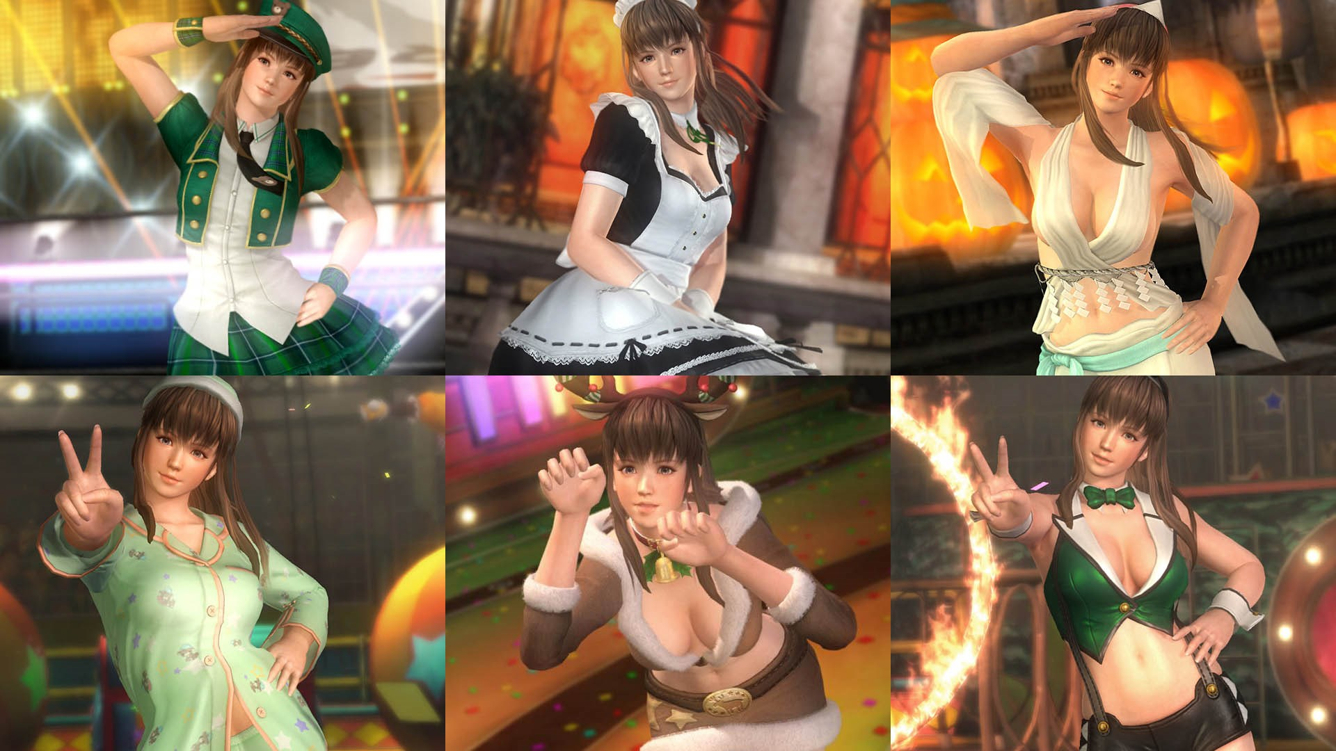 DOA5LR Ultimate Hitomi Content