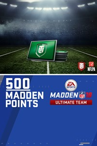 500 Madden NFL 18 Ultimate Team Points