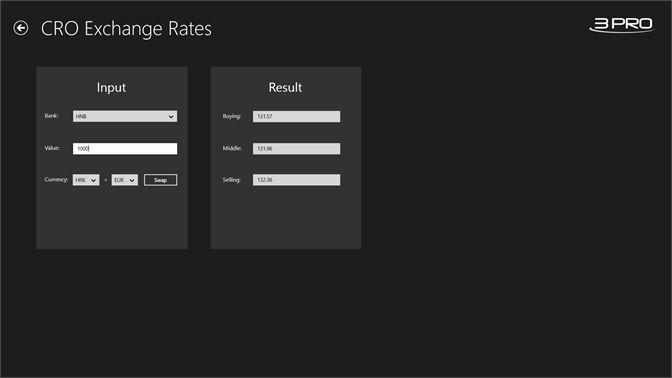 Get Cro Exchange Rates Microsoft Store