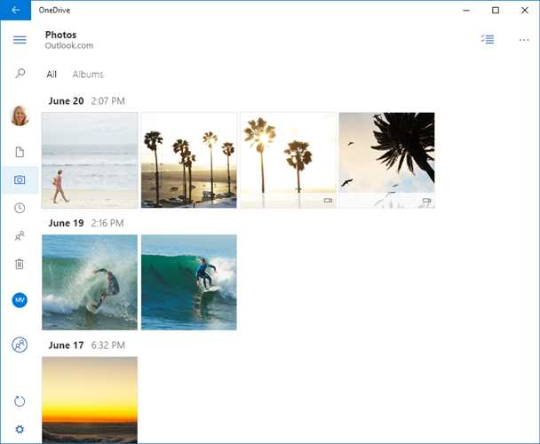 OneDrive Screenshot