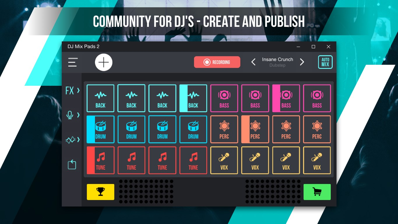 Đang miễn phí ứng dụng mix nhạc DJ Mix Pad 2 - Remix Music trên PC 1