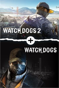 Carátula del juego Watch Dogs 1 + Watch Dogs 2 Standard Editions Bundle