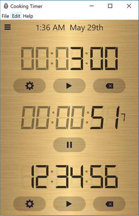 Cooking Timer by VTeam Screenshots 2