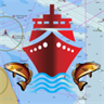 i-Boating: GPS Nautical / Marine Charts - offline sea, lake river navigation maps for fishing, sailing, boating, yachting, diving & cruising