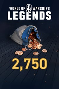 World of Warships: Legends - 2,750 Doubloons