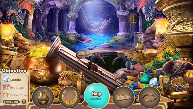Buy Hidden Object The Dragons Treasure Microsoft Store