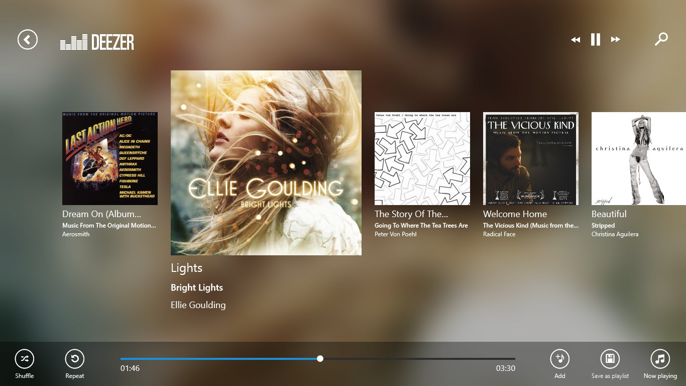 Deezer for Windows 10