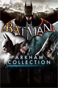 Carátula para el juego Batman: Arkham Collection de Xbox 360