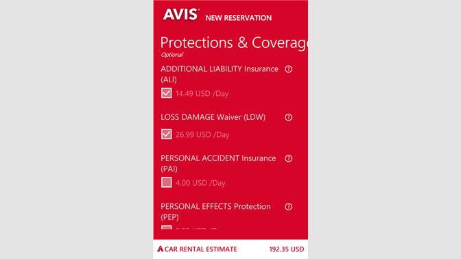 Get AVIS - Microsoft Store