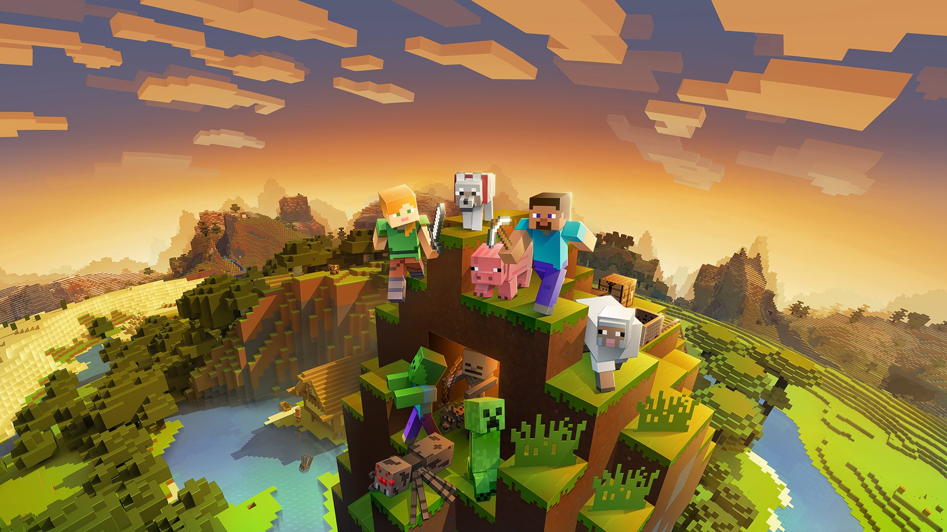 86a6cbafa6d7b9 Buy Minecraft Master Collection - Microsoft Store