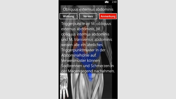 Muscle Trigger Points Anatomy kaufen – Microsoft Store de-CH