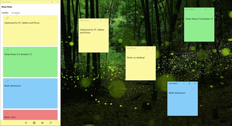 Sticky Notes 8 Screenshot
