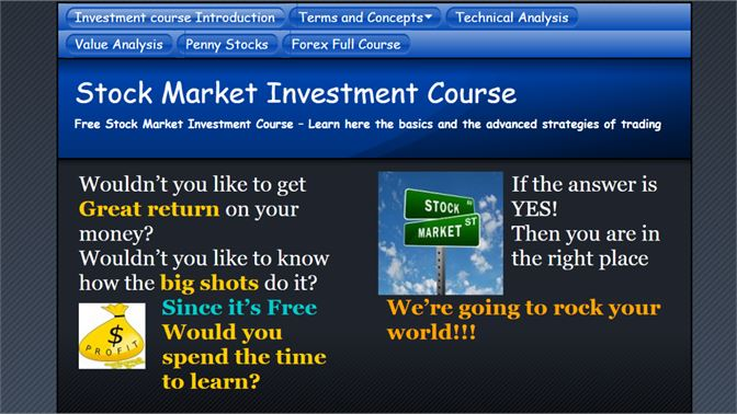 Get Stock Investment Course ETrade - Microsoft Store en-AU