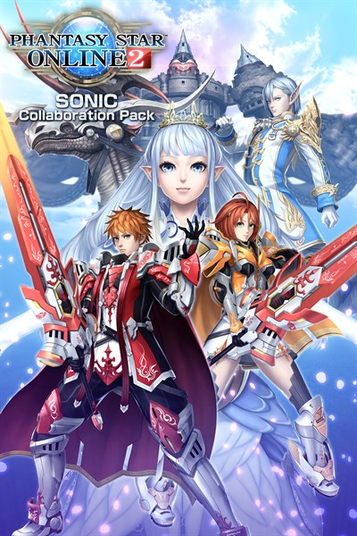 Phantasy Star Online 2 -SONIC Collaboration Edition-