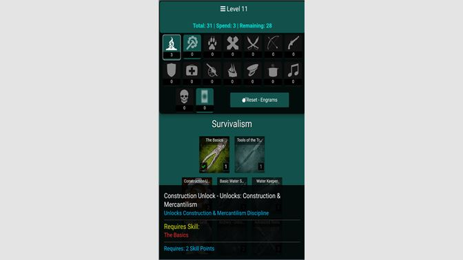 Get Engram Skill Calculator for Atlas Pirate MMO - Microsoft Store