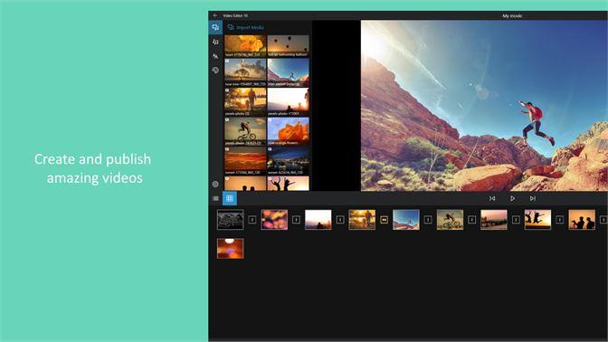 video editor exe for windows 10