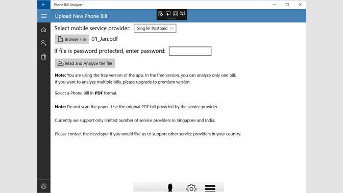 get phone bill analyzer microsoft store