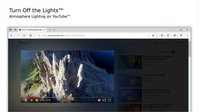 youtube turns black full screen