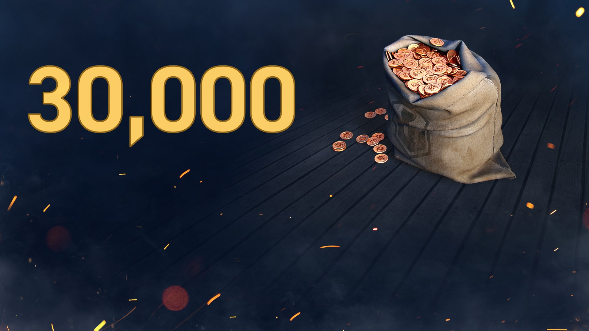 World of Warships: Legends - 30,000 Doubloons