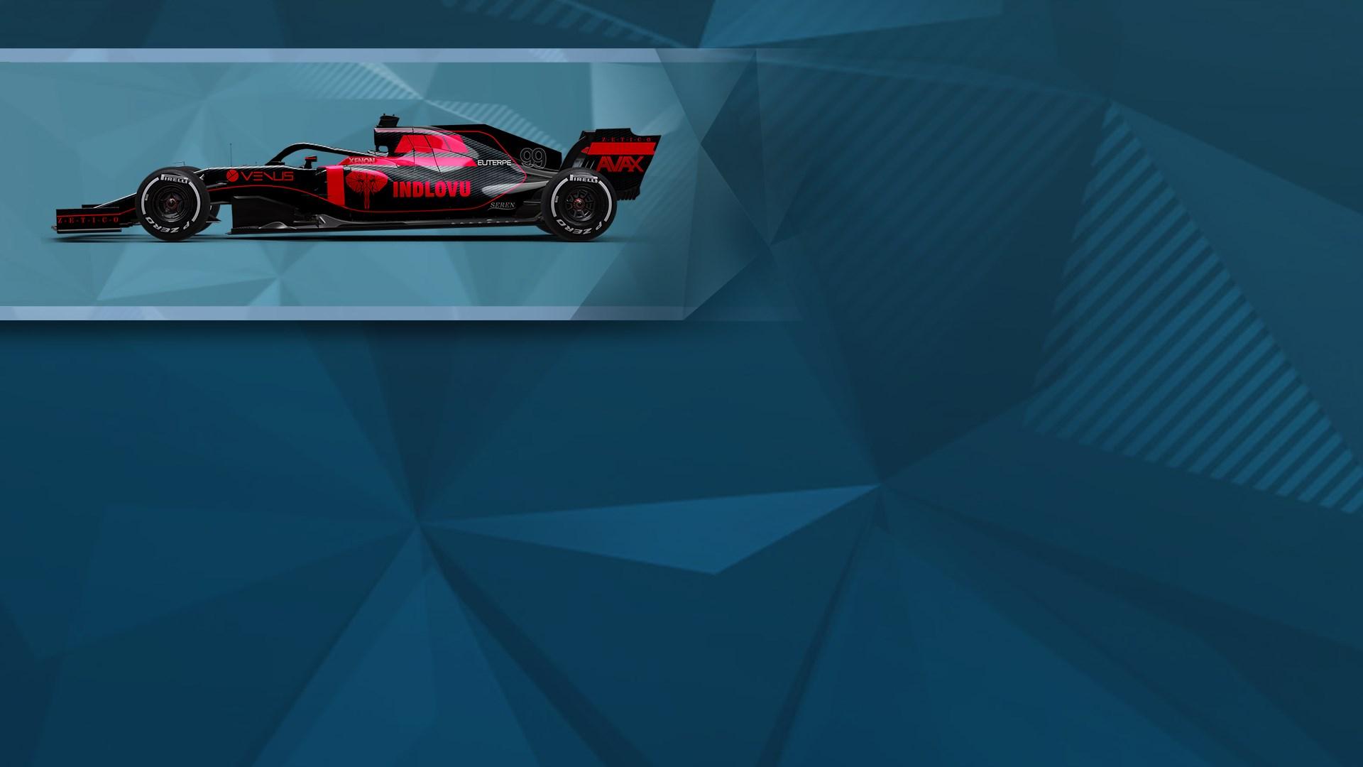 F1® 2019 WS: Car Livery 'INDLOVU - Outline'