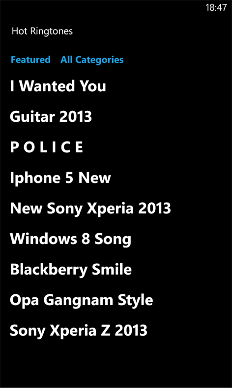 Ringtones Pro Screenshots 2
