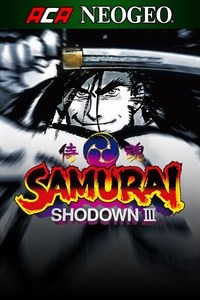Carátula del juego ACA NEOGEO SAMURAI SHODOWN III para Xbox One