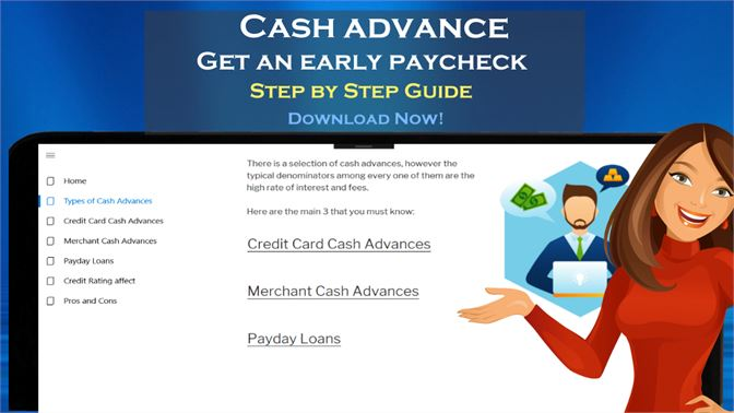 how to get a payday advance credit