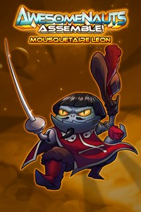 Carátula del juego Mousquetaire Leon - Awesomenauts Assemble! Skin