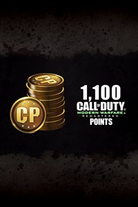 1,100 Call of Duty®: Modern Warfare® Remastered Points