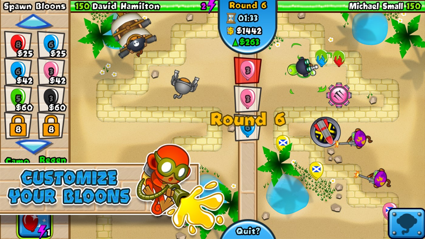 #4. Bloons TD Battles (Windows Phone)