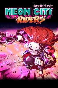 Carátula para el juego Neon City Riders de Xbox 360