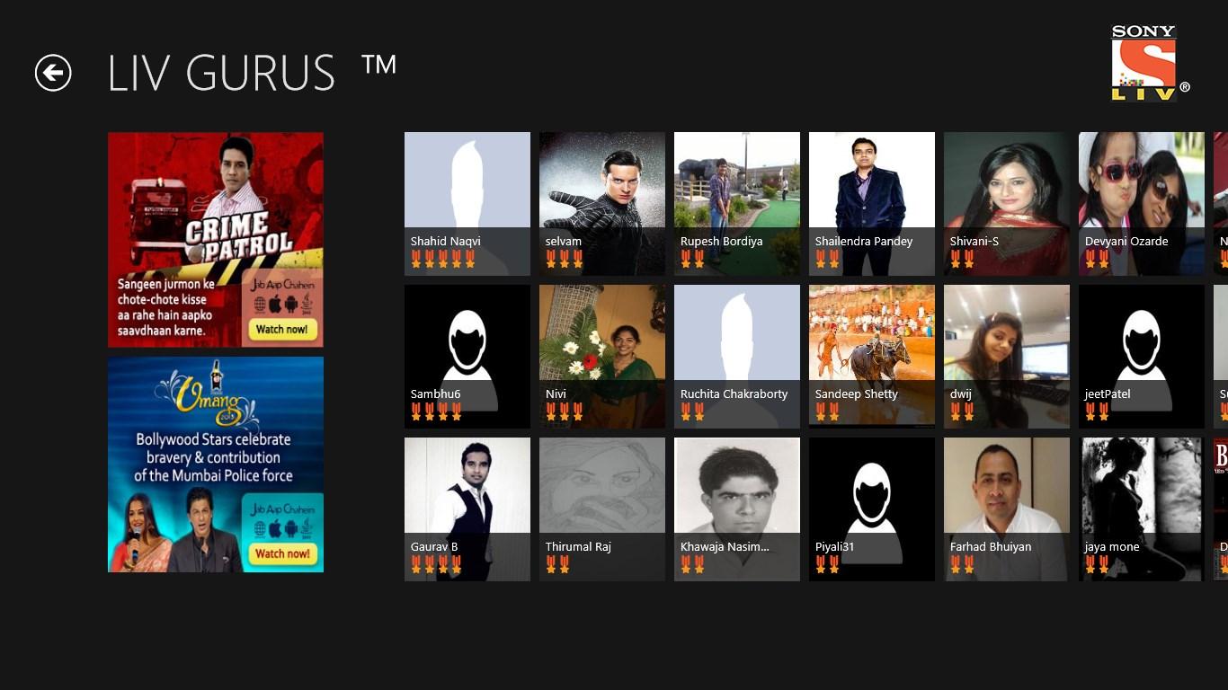Sony LIV for Windows 10