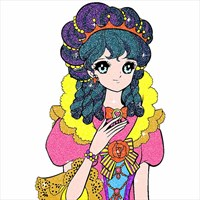 Princess Glitter Color By Number - Girls Coloring Book beziehen ...
