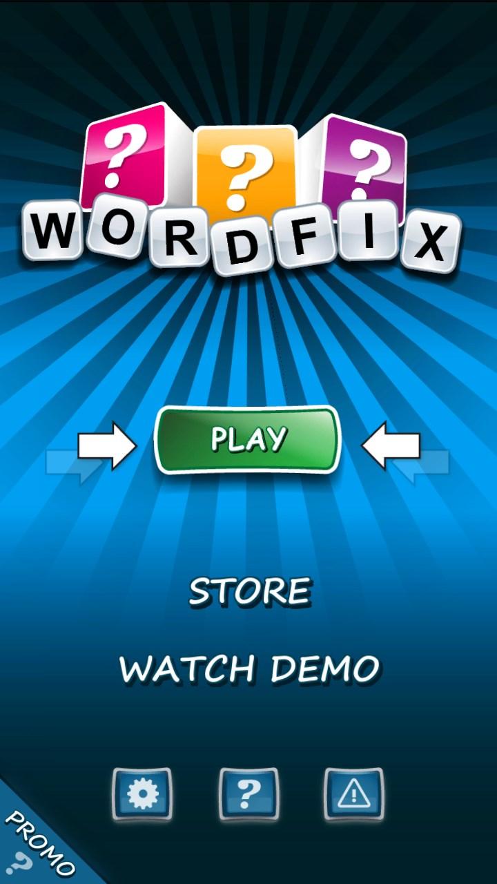 WORDFIX Word Game
