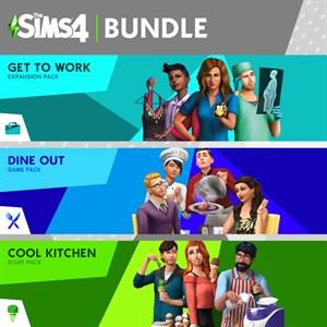 The Sims™ 4 번들 - Get to Work, 외식하기 좋은날, 즐거운 주방 아이템팩 Xbox One