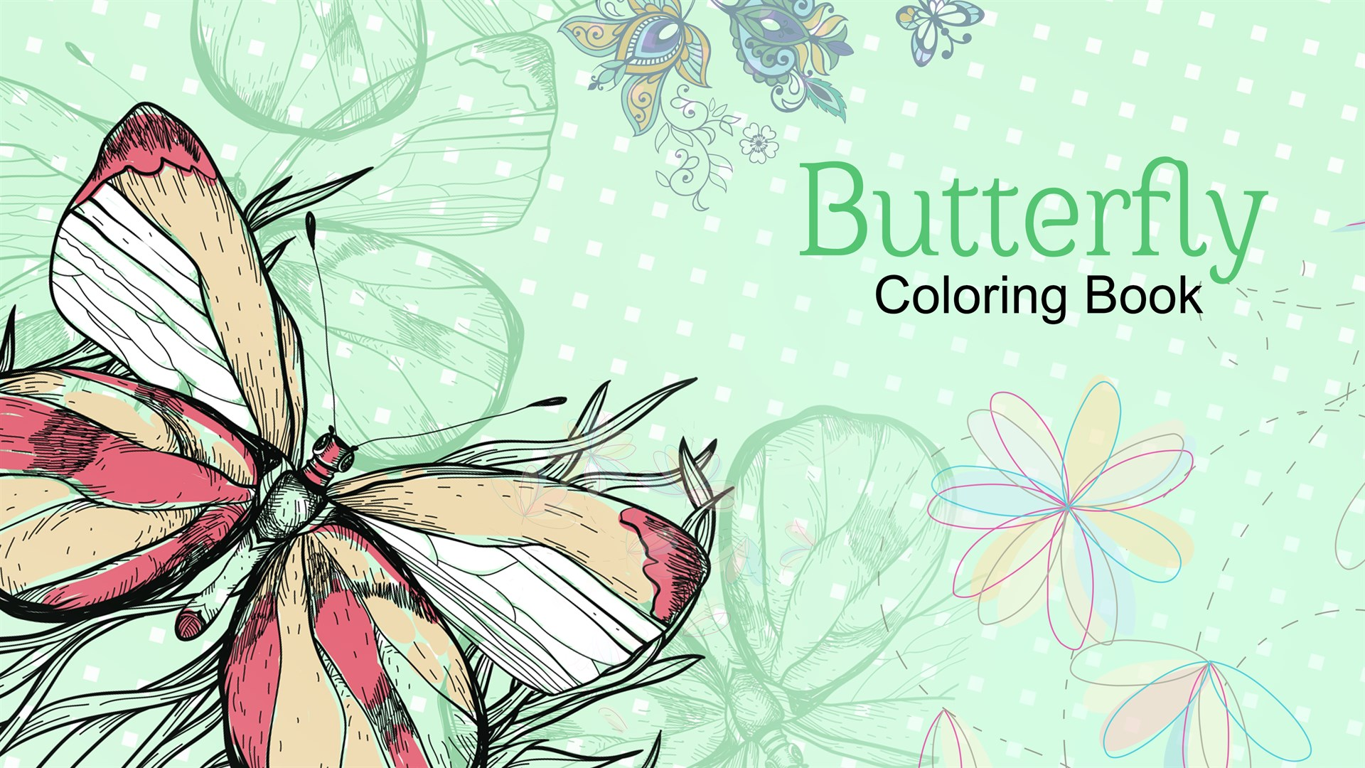 Get Butterfly Coloring Book Pages for Adult & Kids - Microsoft Store