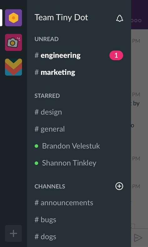 Slack (Beta) Screenshots 1