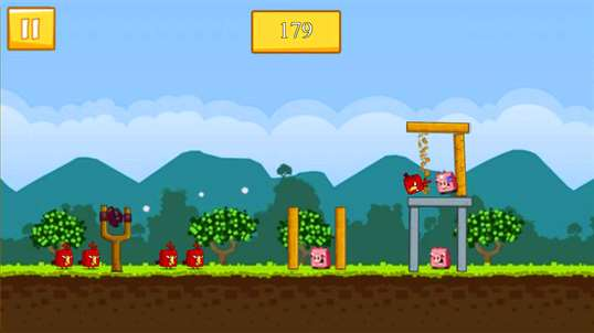 Angry Chicken Space Wars screenshot 3