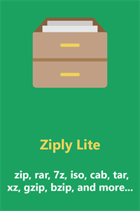 Ziply Lite - best archiver for zip, rar, 7z, iso, cab, and more...