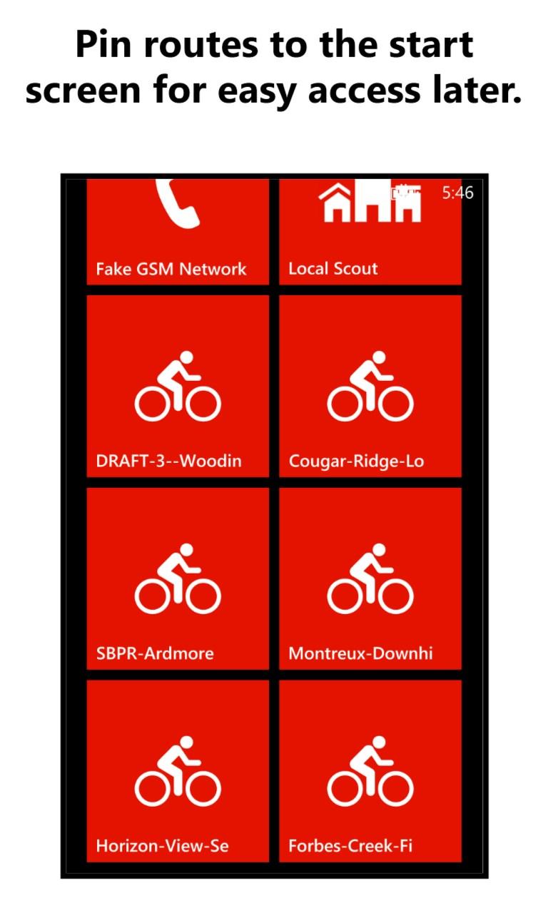 Cycle Tracks GPS