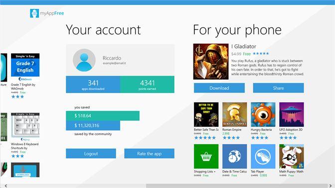 Get myAppFree - Microsoft Store