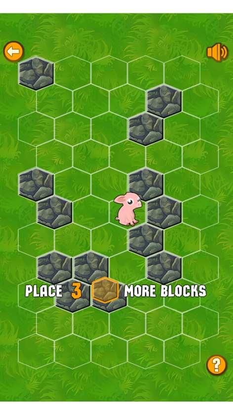 Screenshot: Playing the game