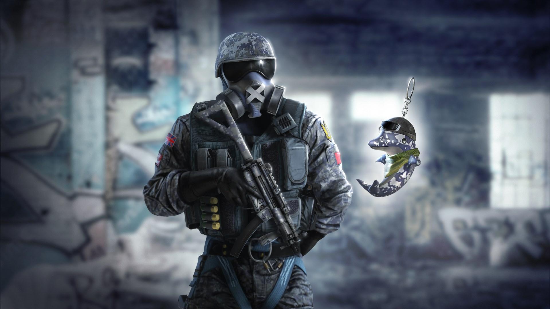 Buy Tom Clancy S Rainbow Six Siege Mute Gravel Blast Set