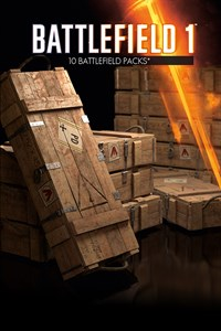 10 Battlepacks de Battlefield™ 1