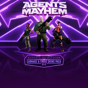Agents of Mayhem - Carnage a Trois Skins Pack Xbox One