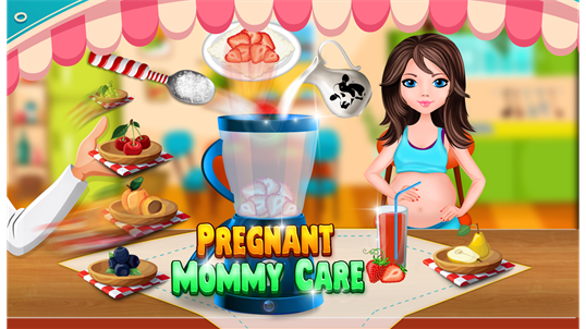 Pregnant Princess Baby Birth - Little Girls Game screenshot 2