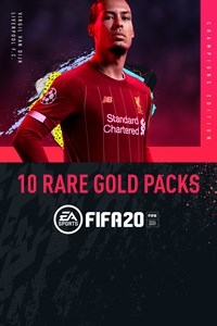 10 Rare Gold Packs