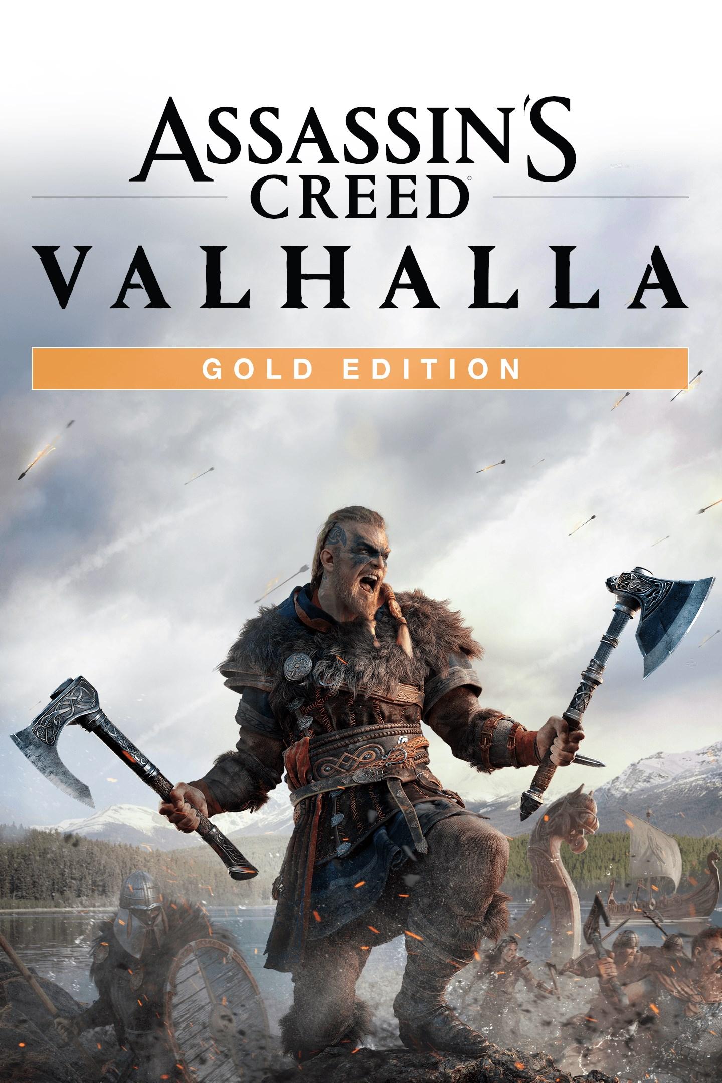 Assassin's Creed Valhalla Gold Edition box shot