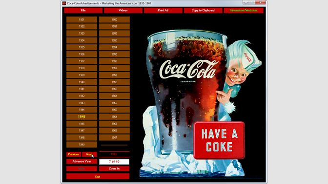 Buy Coca-Cola Ads - Marketing the American Icon 1931-1967 - Microsoft Store
